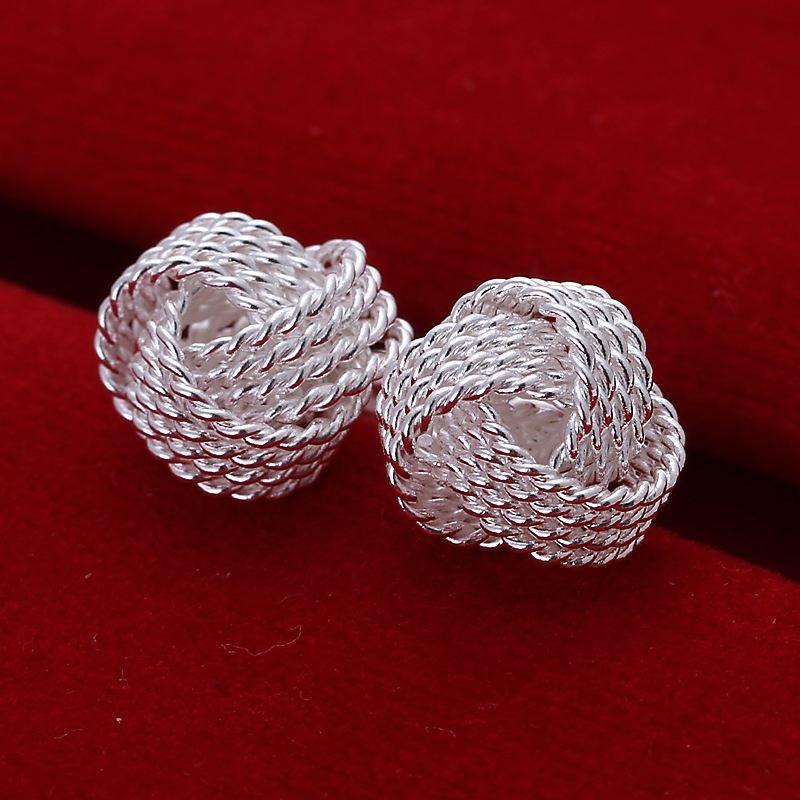 Product GiveAway - Silver Ball Earrings Offer