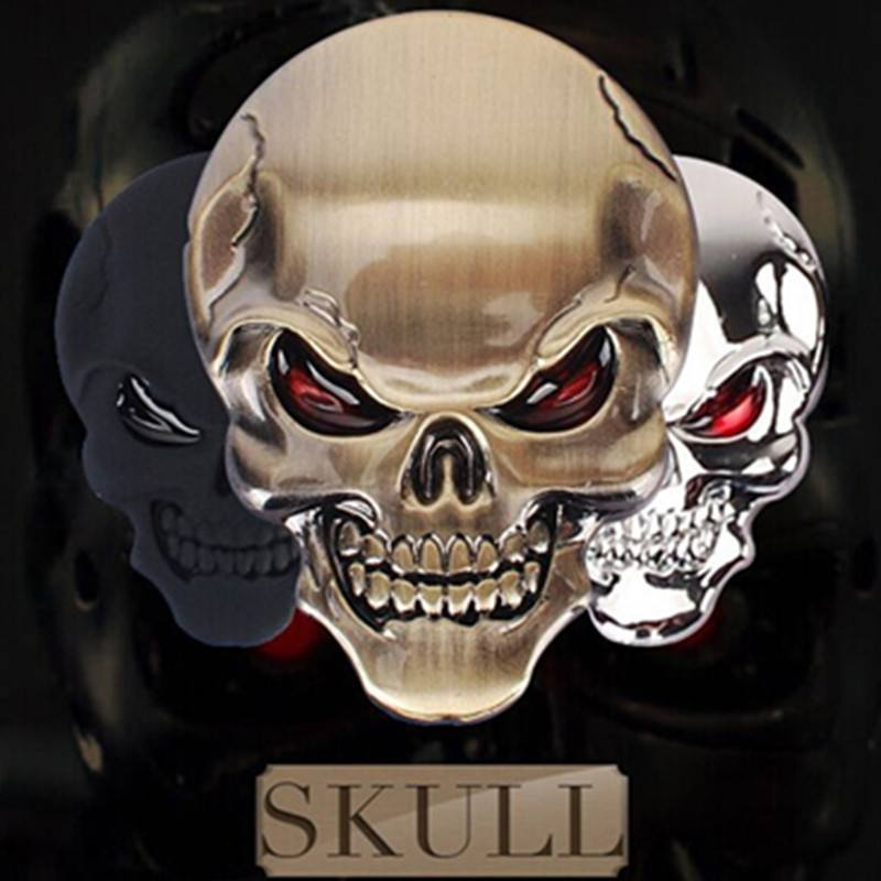 Product GiveAway - Skull 3D Car Decal Offer
