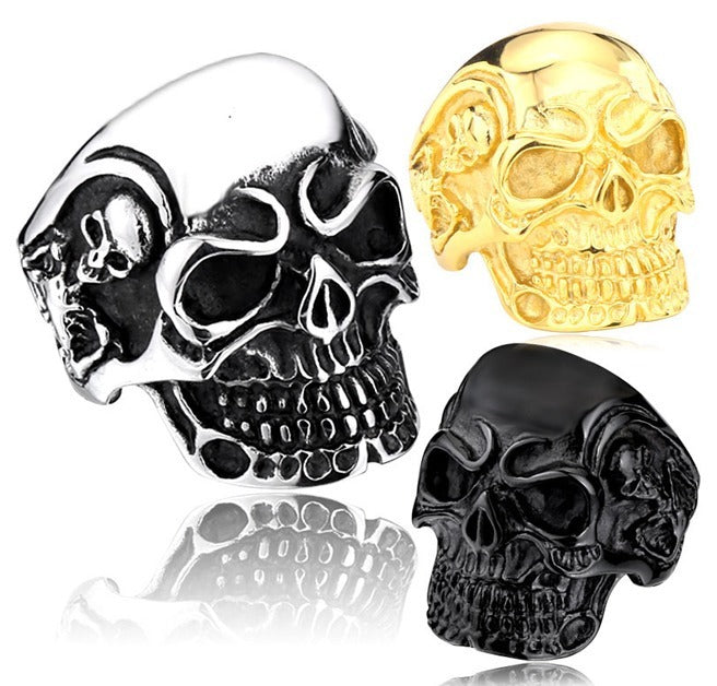 Product GiveAway - Stainless Steel Skull Ring Offer