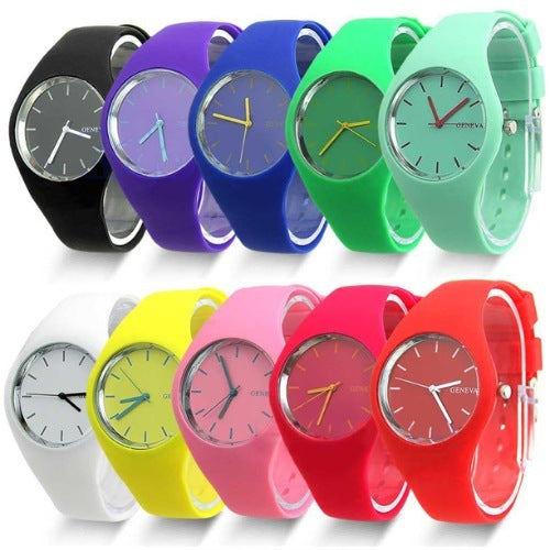 Product GiveAway - Super Soft Jelly Sports Watch Offer