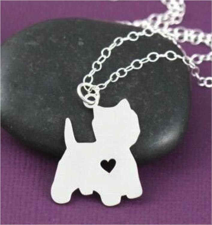 Product GiveAway - Westie Necklace Offer