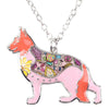 German Shepherd Acrylic Necklace Offer