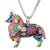 Border Collie Acrylic Necklace Offer