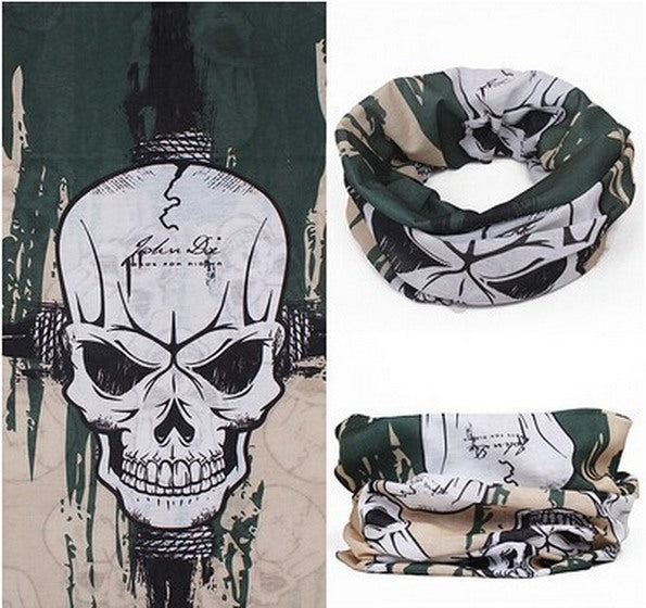 Product Mask - Green Skull Face Mask