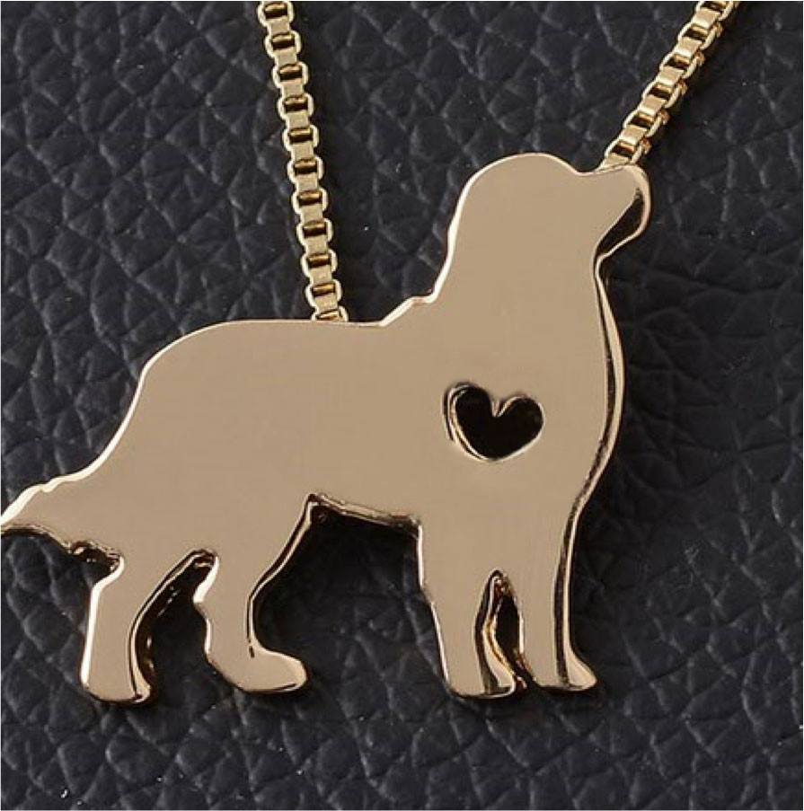 Product Necklace - Golden Retriever Necklace