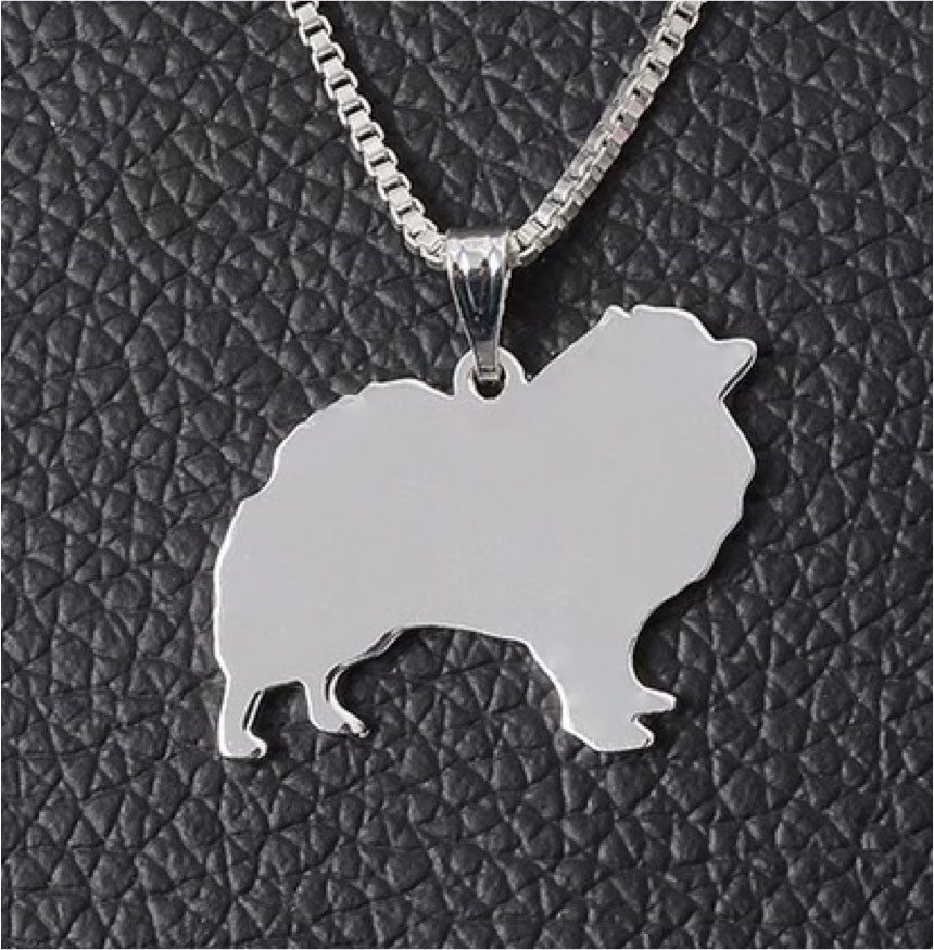 Product Necklace - Pomeranian Necklace
