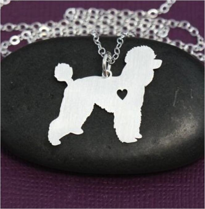 Product Necklace - Poodle Necklace