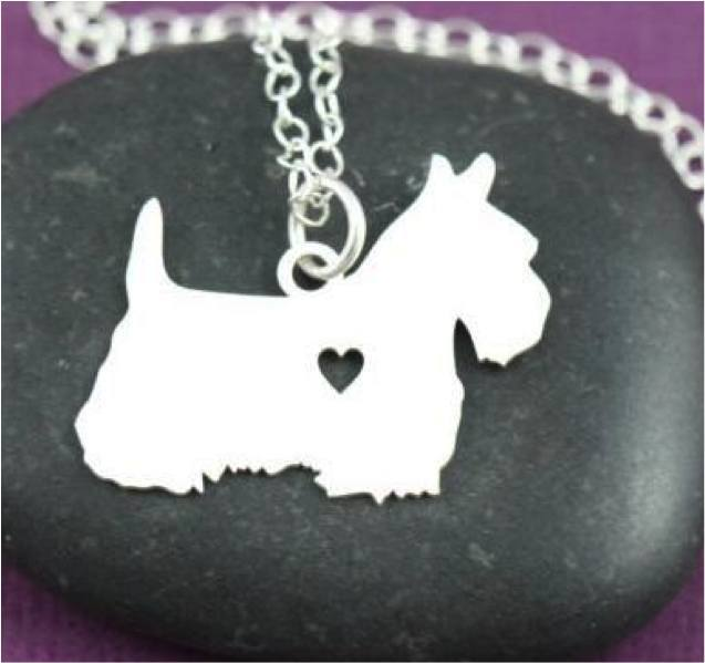 Product Necklace - Scottish Terrier Necklace V2