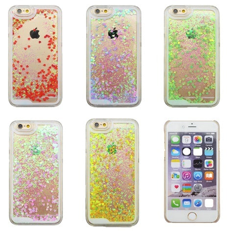 Product Phone Case - Glitter Heart Phone Case