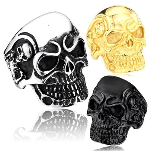 Product Ring - Stainless Steel Skull Ring