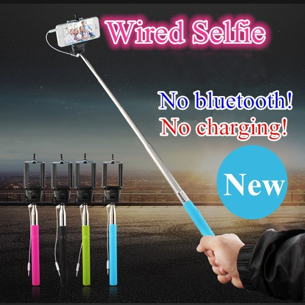 Product Selfie Stick - Wired Selfie Stick