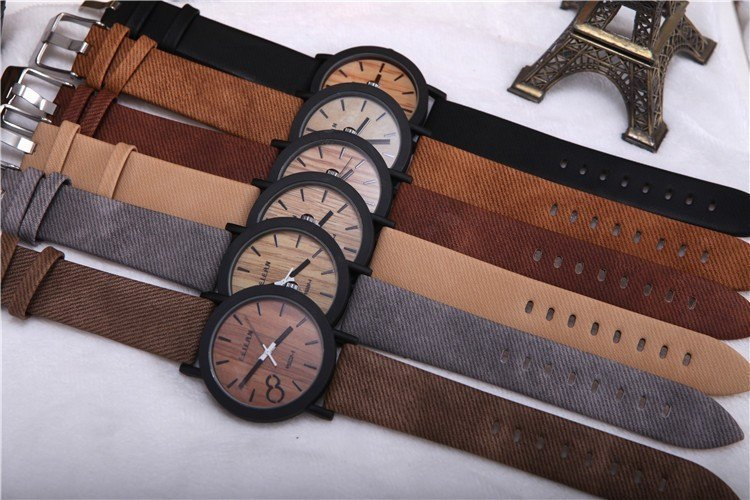Product Watch - Mens Casual Wood Design Watch