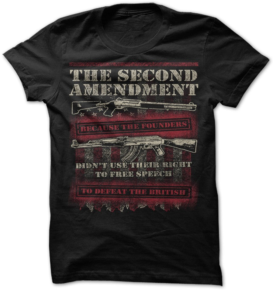 Shirt - 2ND AMENDMENT BRITISH