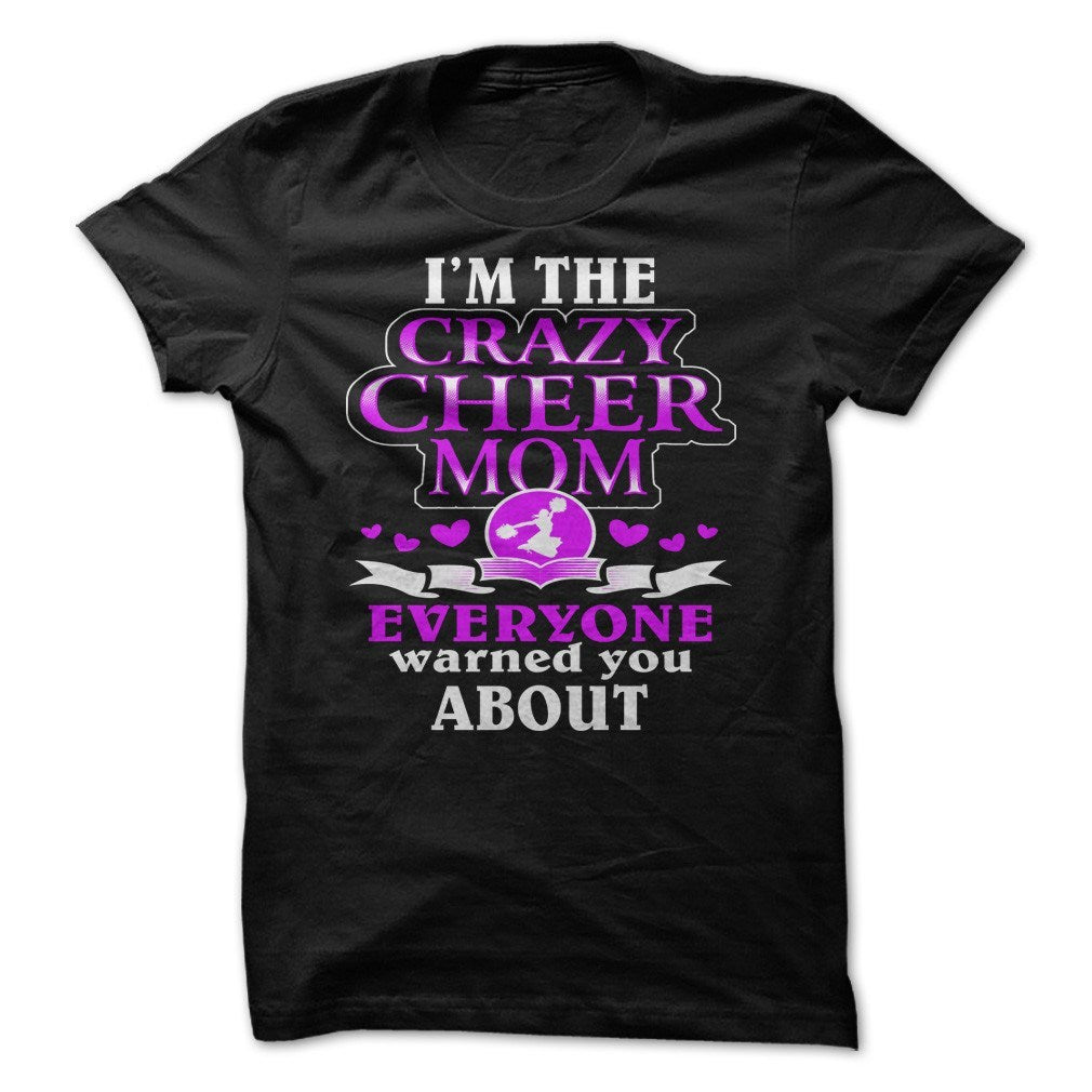 Shirt - Crazy Cheer Mom