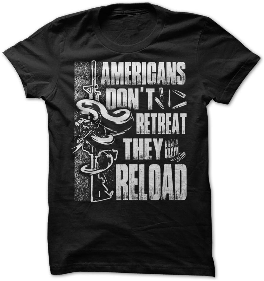 Shirt - DON'T RETREAT