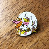SuicideSqueezeRecords-enamel-pin-pink-JesseLeDoux-merch