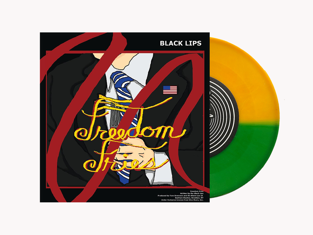 TheCoathangers-TheBlackLips-FreedomFries-7inch-vinyl-SuicideSqueezeRecords