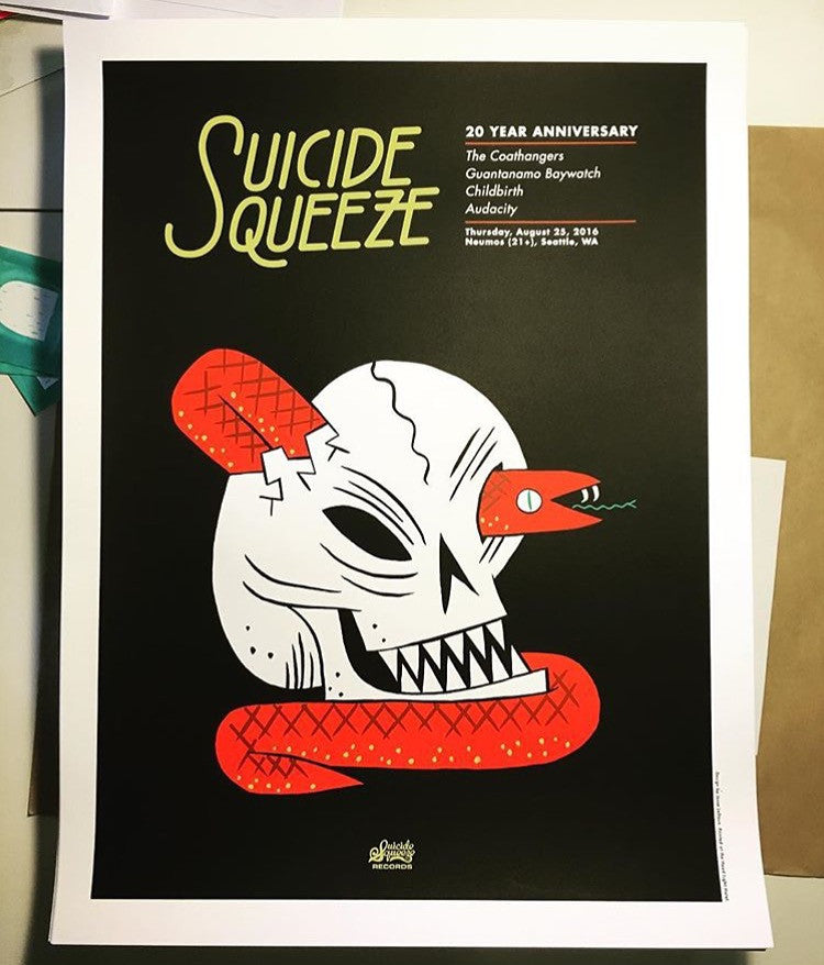 "Suicide Squeeze ""SSR20 Night 1"" Poster"