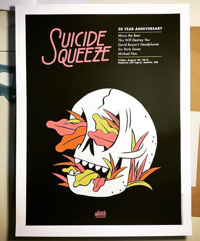 "Suicide Squeeze ""SSR20 Night 2"" Poster"