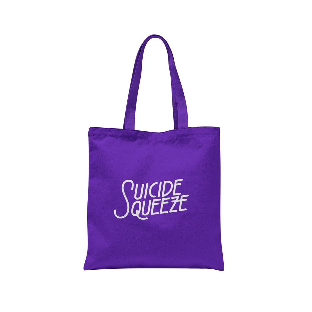 suicidesqueezerecords-tote-purple-merch-ssq-seattle-pnwrecordlabel