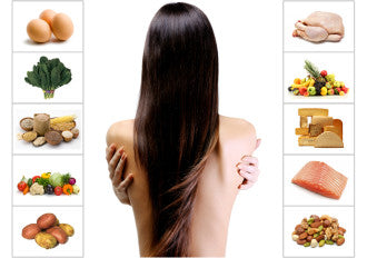diet for healthy hair l'or d'afrique