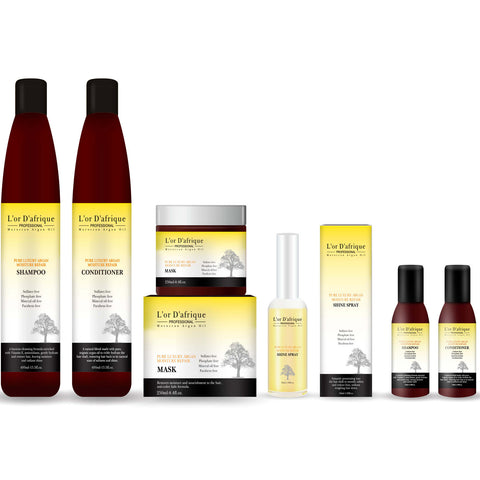 Full Set Argan Oil