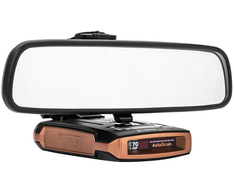 Mirror Mount Radar Detector Bracket - Beltronics GT-7