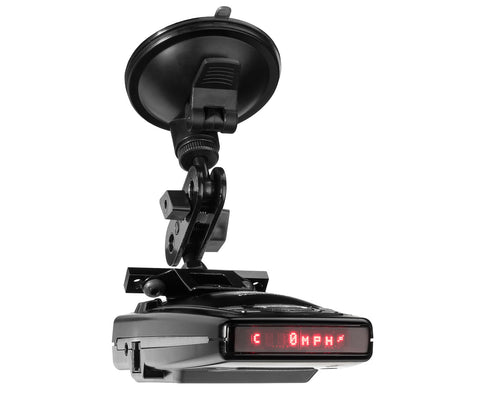 Suction Mount Radar Detector Bracket - Escort  9500ix 8500x50 X70 S55