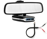 Mirror Mount Bracket + Mirror Wire Cord - Escort MAX360 MAX2 MAX
