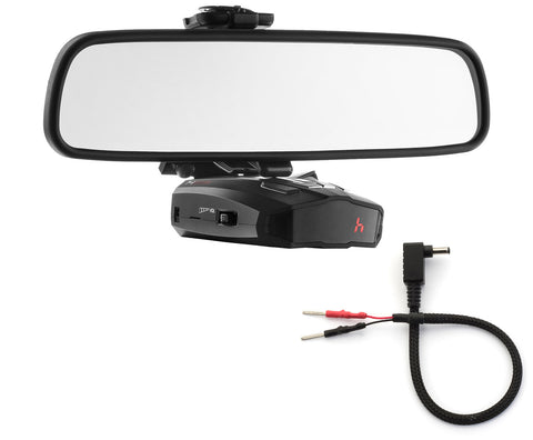 Mirror Mount Bracket + Mirror Wire Cord - Cobra XRS ESD Vedetta