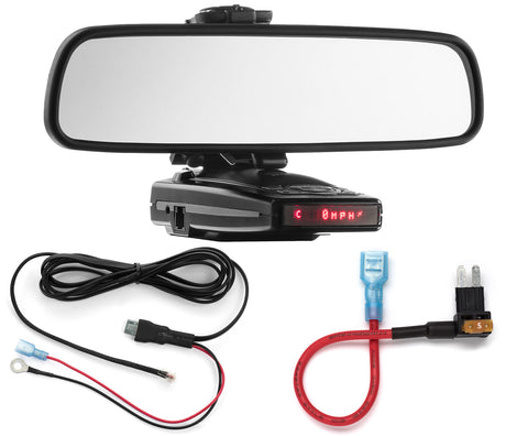 Mirror Mount + Direct Wire + Micro2 Add a Circuit - Escort 9500ix 8500x50 S55