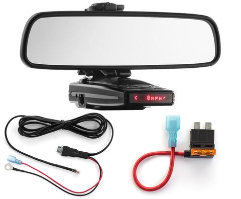 Mirror Mount + Direct Wire + ATO Add a Circuit - Escort 9500ix 8500x50 X70 S55