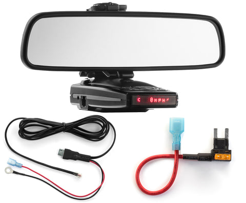 Mirror Mount + Direct Wire + Mini Add a Circuit - Escort 9500ix 8500x50 X70 S55