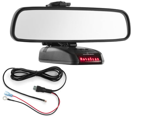 Mirror Mount Bracket + Direct Wire Cord - Beltronics RX STI GX65