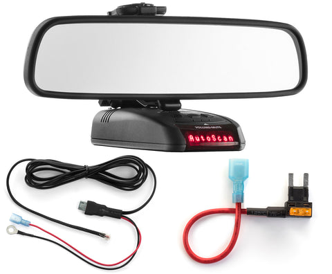 Mirror Mount + Direct Wire + Mini Add a Circuit - Beltronics RX STI GX65