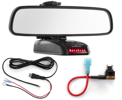 Mirror Mount + Direct Wire + Micro Add a Circuit - Beltronics RX STI GX65