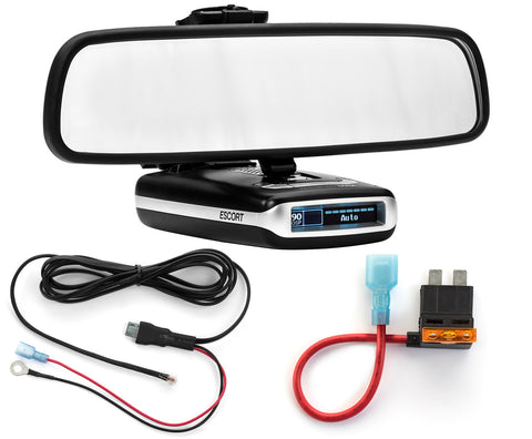 Mirror Mount + Direct Wire + ATO Standard Add a Circuit - Escort MAX360 MAX2 MAX