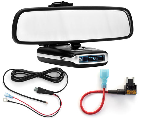 Mirror Mount + Direct Wire + Micro Add a Circuit - Escort MAX360 MAX2 MAX