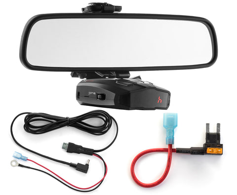 Mirror Mount + Direct Wire + Mini Add a Circuit - Cobra XRS ESD Vedetta