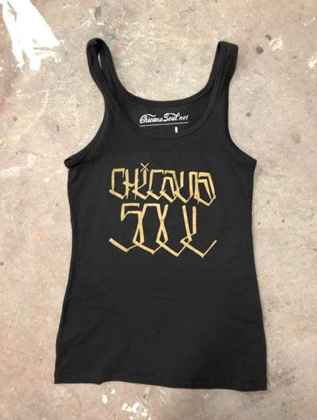 Chicana Soul Handstyle tank (2018)