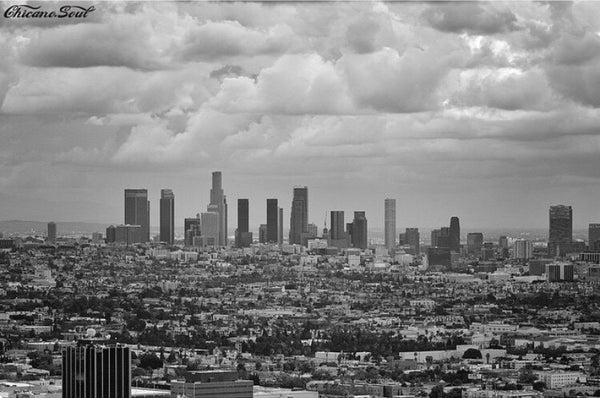 Cloudy Skies Over L.A.