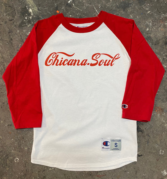 Chicana Soul Champion Baseball Tee