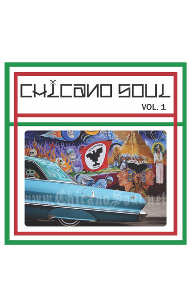 Chicano Soul Vol. 1 Vinyl Sticker