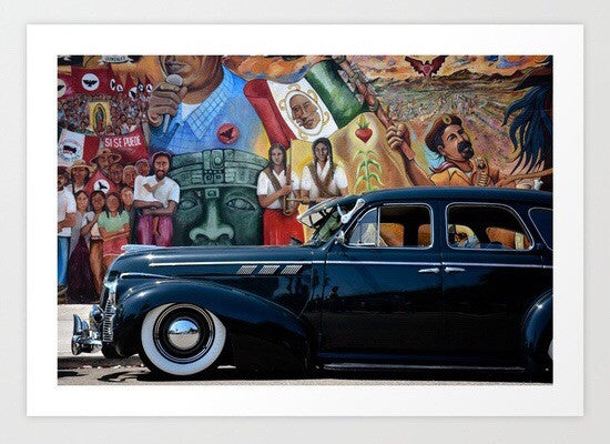 Pontiac in Chicano Park