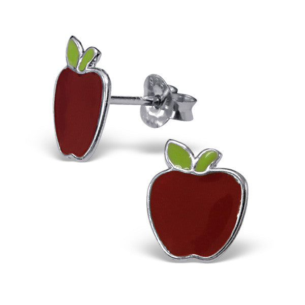 Red Apple Studs