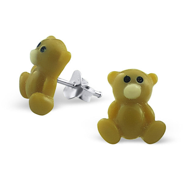 Tiny Teddy Bear Studs