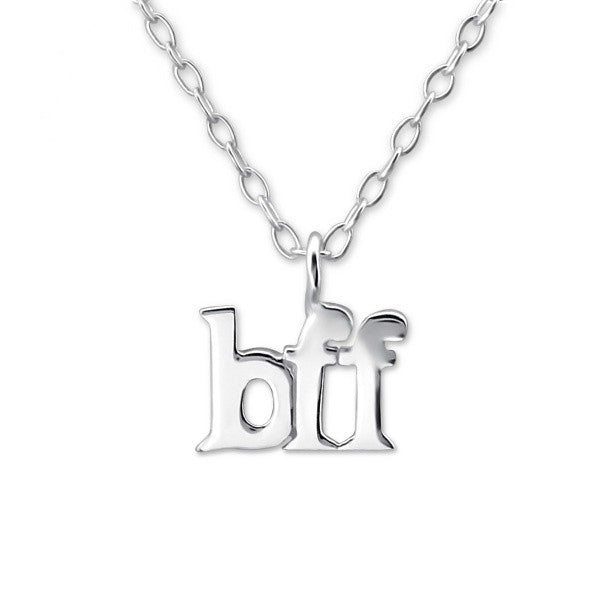 Silver Bff Necklace