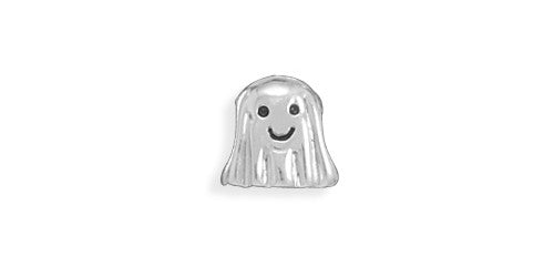 Silver Ghost Large Hole Bead