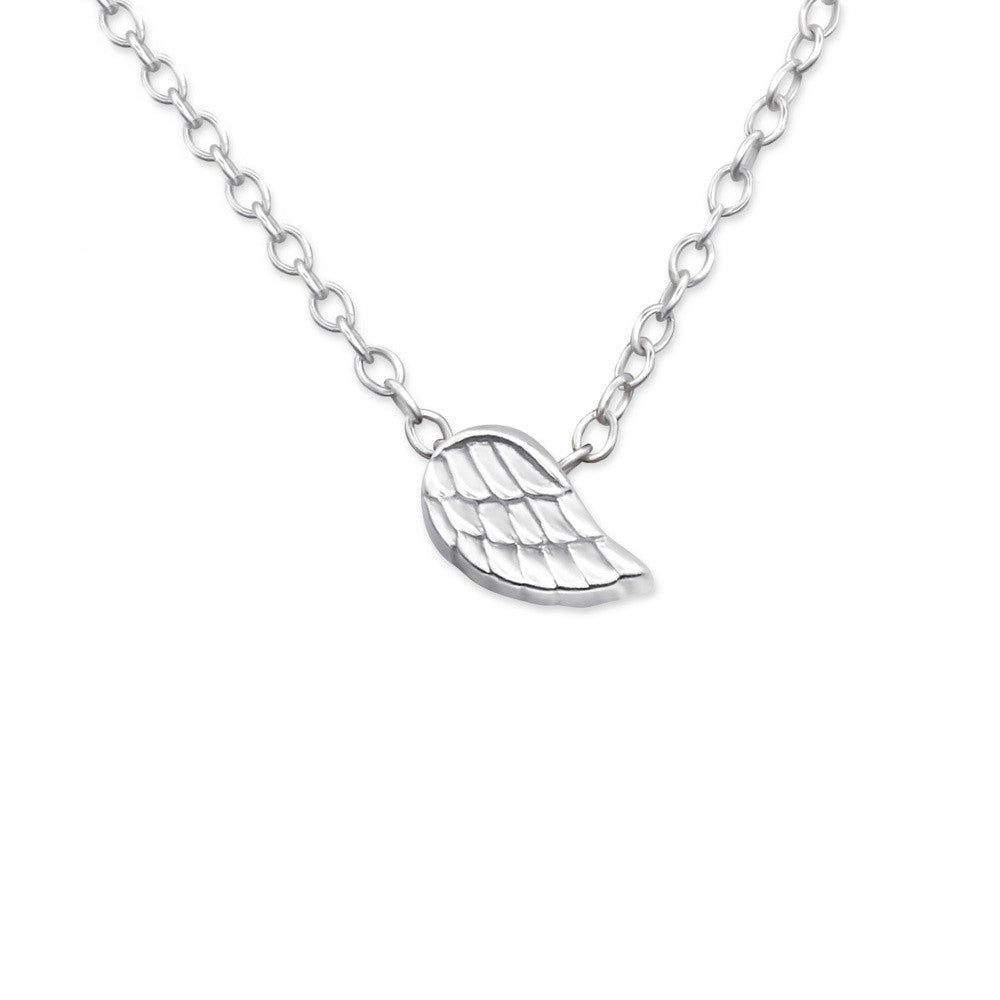 Tiny Angel Wing Necklace