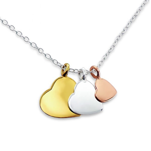 Hearts Trio Necklace